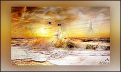 A dream about Peace! (SØS: Thank you for all faves + visits) Tags: digitalartwork art kunstnerisk manipulation solveigøsterøschrøder artistic dove dream face girl peace portrait 100views