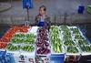 Vegetable Vendor (dmengel415) Tags: thailand chiangmai muangmai market auntie shopkeeper