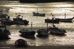 3KB12115a_C_2019-01-22 (Kernowfile) Tags: pentax cornwall cornish water reflections stives silver boats fishingboats pier sand pentaxforums
