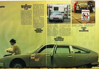 Publicité advertising 1979 (3 pages) Huile Moteur Molygraphite Antar Citroen CX