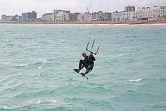 2018_08_15_0044 (EJ Bergin) Tags: sussex westsussex worthing beach seaside westworthing sea waves watersports kitesurfing kitesurfer seafront lewiscrathern