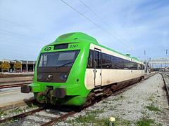 CP 362, Entroncamento, 15 February 2019 (filhodaCP) Tags: cp allan linhadoleste comboiosdeportugal caminhodeferro museuferroviário railcar automotora railways