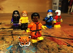 Eye Of The Tiger (Lord Allo) Tags: lego dc suicide squad bronze tiger deadshot captain boomerang rick flag nightshade