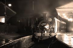 A Dickens scene (David Blandford photography) Tags: horsted keynes bluebell railway beattie well tank 30587 night