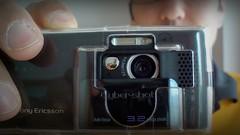 Sony Ericsson Cyber Shot K800i (pix-4-2-day) Tags: sony ericsson cyber shot k800 camera phone mobile handy 128 lens selfie mirror reflection reflexion fingers finger man mann black schwarz kamera selbstporträt 800i 32 mega pixels cameraporn