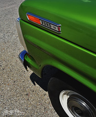 Ford 100 (Hi-Fi Fotos) Tags: ford 100 pickup truck vintage green retro chrome badge front clip marker light wheel classic detail nikon d7200 dx hififotos hallewell