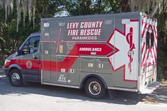 Levy County Ambulance (Martijn Groen) Tags: chiefland levycounty usa unitedstates florida november 2017 ambulance paramedics ems firerescue emergency vehicle mercedesbenz mercedes sprinter