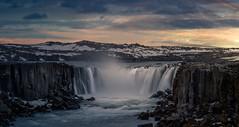 Iceland Waterfall part 2 (RigieNL) Tags: iceland nature landscape landscapelovers europe europa sony sky sun roadtrip insta instagram pink purple cloud dreamscape water waterfall waterscape