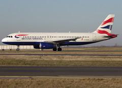 G-EUUO, Airbus A320-232, c/n 1958, BA/BAW/Speedbird/British Airways, CDG/LFPG 2019-02-15, taxiway Delta. (alaindurandpatrick) Tags: cn1958 geuuo a320 a320200 airbus airbusa320 airbusa320200 minibus jetliners airliners ba baw speedbird britishairways airlines cdg lfpg parisroissycdg airports aviationphotography