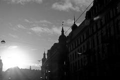 #109 - Un aperçu de façade (beguin.sylvain) Tags: goteborg facade contrejour