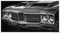 I'll take Two Scoops, Please (Robert Streithorst) Tags: carshow hotrodshow2017 louisvilleky mono oldsmobile robertstreithorst