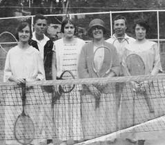 Anyone For Tennis 1920's Style? (philh65) Tags: tennisfashions history sydney mosman tennis