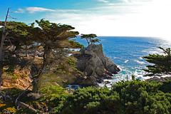 Lone Cypress Viewpoint, from 17-Mile Drive near Pacific Grove, California, Christmas 2018 (Northwest Lovers) Tags: california pacificgrove highway1