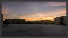 brean-down-sunset_panorama1-090119_DxO (Peadingle) Tags: sunset dusk brean down fort somerset