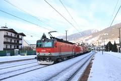 OBB 1144 en 1116 067 te Matrei (vos.nathan) Tags: österreichische bundesbahnen obb 1144 102 1116 067 taurus matrei am brenner
