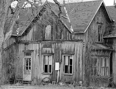 This Old House (John Neziol) Tags: jrneziolphotography portrait photography abandoned old odd ontario decayed decay architecture nikon naturallight longpoint monochrome blackwhite