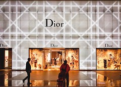 Dior@Taipei 101..... (Evo-PlayLoud) Tags: iphonex psexpress dior interior streetphotography lightandshadows