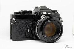 Nikn FE with Nikkor 50mm f1.4 lens (ronang) Tags: nikon fe slr camera 35mm 135 nikkor classic film black body