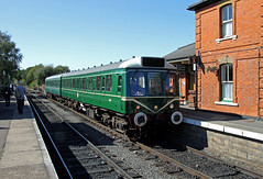 Class 117/121 North Weald (CD Sansome) Tags: 51384 56287 121 117 class br british rail north weald station eor epping ongar railway diesel gala train trains preserved heritage dmu