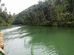beautiful Philippines (ghostgirl_Annver) Tags: asia asian river boat trees rainforest water green reflection philippines