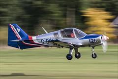 Scottish Aviation Bulldog 120-122 - 04 (NickJ 1972) Tags: shuttleworth collection oldwarden race day airshow 2018 aviation scottish bulldog gbcus 121 120122