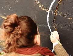 281A6287 Rennes Impermanence Galerie Mur6 @Anne Laure Chevallier (blackbike35) Tags: rennes bretagne france impermanence galerie mur wall street streetart paint painting art work writing artistes women