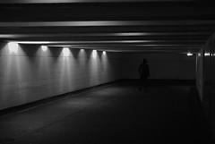 Different Worlds (Listenwave Photography) Tags: art fineart bnw dp3m sigma клаустрофобия потолок стены арт поворот тоннель санктпетербург подземлей переход пешеход силуэт фигура контраст свет подземка коридор walk street underground lamps corridor iso800 foveon listenwavephotography vps