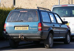 M57 GRW (3) (Nivek.Old.Gold) Tags: 1995 rover montego 20i countryman ugboroughgarages