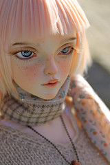 Ready for spring (~Felka) Tags: fairyland minifee sircca aline ns normal skin faceup by greenwolfy wig frappzilla mako eyes msd bjd doll