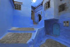 Cefchaouen, Morocco, January 2019 D700 396 (tango-) Tags: chefchaouen bluecity villaggioblu bluevillage morocco maroc 摩洛哥 marruecos марокко المغرب