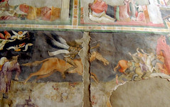 Bolzano - Cappella di San Giovanni - 1 (antonella galardi) Tags: altoadige sudtirol bolzano città 2013 cappella sangiovanni chiesa domenicani dominikarskirche gotico affreschi cavaliere apocalisse