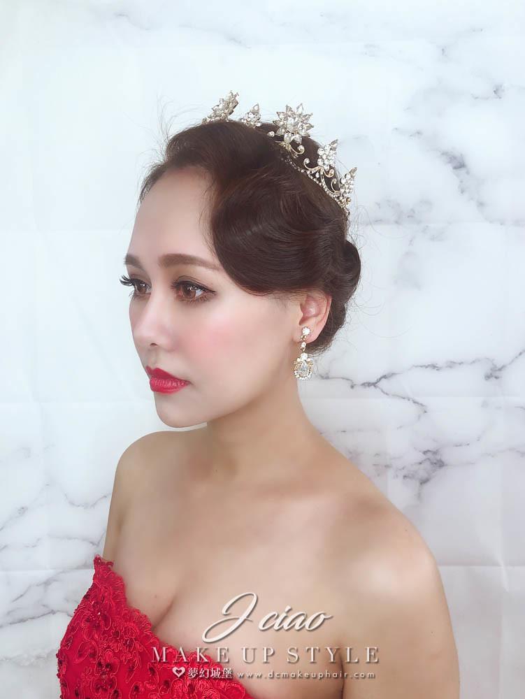 【新秘婕喬】新娘造型創作 / 復古女伶