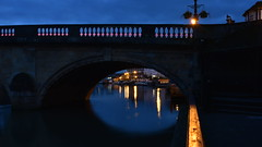 Henley Bridge - 2 (rq uk) Tags: rquk nikon d750 longexposure dusk reflections bridge henleyonthames nikond750 afsnikkor1835mmf3545ged