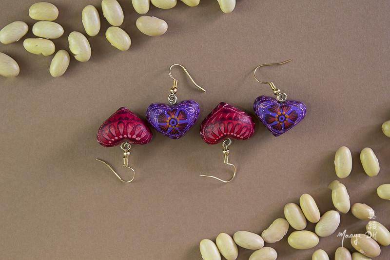 c37f5e385afe Aretes de copal (maaya.dh) Tags  jewelry mexican oaxaca mexico joyería  artesanía