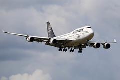 """Air Atlanta Icelandic Boeing 747-428 TF-AAK """"Ed Force One"""" (M. Oertle) Tags: airatlantaicelandic boeing 747428 tfaak edforceone"""