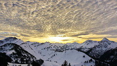 Sunset over the Alps (akovt) Tags: alps austria tannheim mountains sky clouds viewpoint view