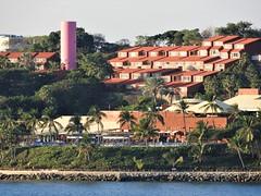 Good Day Sunshine (knightbefore_99) Tags: mexico mexican oaxaca huatulco great tropical tangolunda warm cool west coast sol sun sunny hello pink tower clubmed lasbrisas