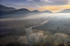 La Valle dell'Adda (fabrizio daminelli ) Tags: fabriziodaminelli canon paesaggio landscape natura nebbia brina lombardy lombardia acqua fog gelo piante trees water inverno