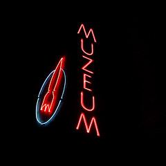 muzeum (Darek Drapala) Tags: racket museum night dark warsaw warszawa soho panasonic poland polska panasonicg5 praga city urban lumix light