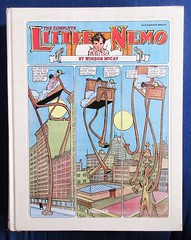 The Complete Little Nemo by Windsor McCay - Taschen 2489 (Brechtbug) Tags: the complete little nemo by windsor mccay 1905 1914 including later version running from 1924 1926 big white book with everything sunday funnies comic strip newspaper news paper color vaudville daily comics funny humor satire character characters clown clowns syndicate n slumberland fantasy animation mccays new york herald tribune papers cartoonist animator city 2019 nyc published 2014 taschen publication alexander braun