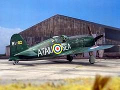 1:72 Mitsubishi J2M3 'Raiden' (Allied Codename 'Jack'); aircraft 'BI-02', operated by the Allied Technical Air Intelligence Unit - Southeast Asia (ATAIU-SEA); RAF Seletar (Singapore), Dec. 1945 (modified 1977 Hasegawa kit) (dizzyfugu) Tags: add tags 172 mitsubishi j2m3 jack raiden 雷電 thunderbolt green imperial japanese army navy aviation fighter interceptor ataiu sea allied technical air intelligence unit southeast asia raf seletar british malaya singapore test trial evaluation 1945 postwar pow bounty royal force inteceptor modellbau dizzyfugu hasegawa model kit plastic arawasi wild eagles blog contest opposites attract 007