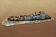 Edoras (-Balbo-) Tags: lego moc edoras micro lordoftherings hobbit lotr herr der ringe creation bauwerk rohan hdr theoden