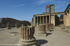Pompeii (www.chriskench.photography) Tags: history italy italia travel europe architechture buildings ruins columns nikon d700 kenchie wwwchriskenchphotography