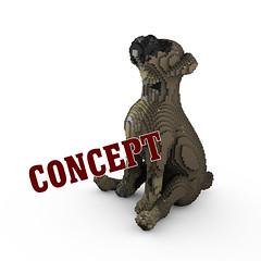 Boxer Puppy (BrickFabrik) Tags: lego boxer dog legodog legoanimal puppy