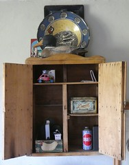 Cabinet of Curiosities (ART NAHPRO) Tags: rustic cabinet wall cupboard rural vintage meets