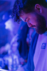 color cammy heed (iamthecandleman) Tags: dj event basment party face portrait sony a7r zeiss digital flash scotland man headphones music electronic