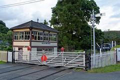 Glyndyfrdwy signal box (mrpb27) Tags: gwuk guesswhereuk gwr beeching signalbox llangollenrailway glyndyfrdwy denbighshire wales uk gb nikon d5200 18200mmf3556gedifafsvrdx dxophotolab mrpb27