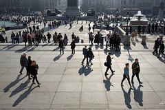 Trafalgar-Square (RS...) Tags: london londres trafalgarsquare people ombres shadows contrejour d7200