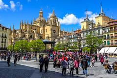 Spain - Segovia - Catedral de Segovia (andrei.leontev) Tags: spain espagne españa spanien segovia unesco centre ville city center catedral cathedral ngc