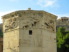 Tower of the Winds (3 of 3) (jimsawthat) Tags: ancient stone romanforum towerofthewinds ruins urban athens greece